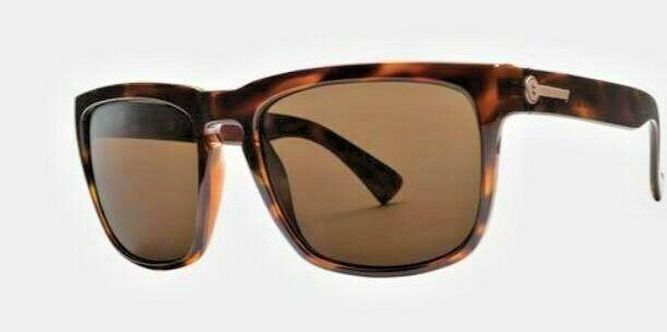 Electric, Sonnenbrille, Knoxville XL , glosstort, / OHM Bronze  , Gr M ,men