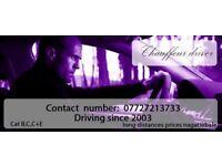 Personnal chauffer driver