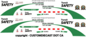 1-18-SCALE-GO-TRANSIT-SAFETY-DODGE-CHARGER-DECALS-DOES-2-CARS-NEW-RELEASE