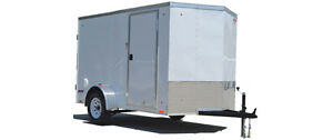 Enclosed trailer 8'-10'long