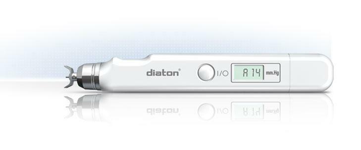Diaton IOP Tonometer- Through Eyelid and Sclera