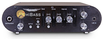 ASHDOWN MiBass 220 Head Bassamp inkl. Tasche