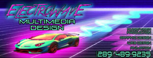 Web/Graphic Designer, Audio/Video Producer available