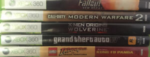 5 video games for 100 dollars