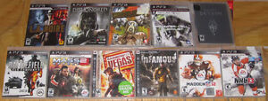 11x PS3 Games for Sale Cambridge Kitchener Area image 1
