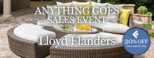 20% OFF Patio Furniture Special Orders