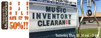 Mississippi Mills Musicworks - Sat.May 23rd Blow Out Sale