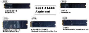 APPLE MACBOOK SSD hard drive 128G/ 256G/ 512G for pro/ AIR