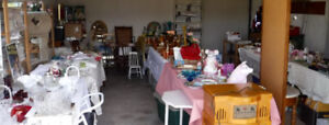 Garage Sale Glass China Barbies Jewelry Collectibles Sat. Sun.