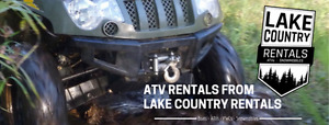 ATV for Rent! UTV for Rent! Side by Side for Rent!