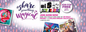 Join Avon for free, Earn Money for Christmas
