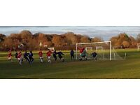 Clapham based football club seeks a striker, left winger and left full back.