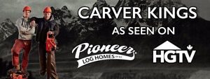 Carver King Chainsaw Carvings For Sale Kitchener / Waterloo Kitchener Area image 3