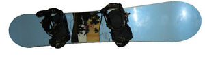 RIDE grace 146 snowboard with Binders and size 7.5 Boots