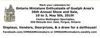 OMEGA Dollhouse Show and Sale