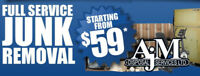 Junk Removal Starting at $59