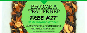 Tealife Free Kit in March!
