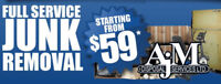 Junk Removal Starting at $59! Call Now