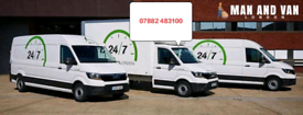 Man and van east West North South London movers near me