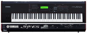Yamaha S90 ES Synthesizer Stage Piano Workstation