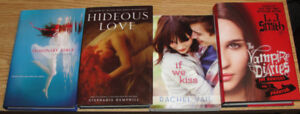 Lot of new and unread young adult/teen books