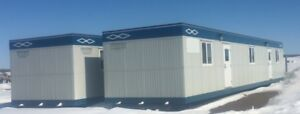 12 x 60 Skidded Office / Lunch Trailers - 2 available