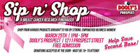 DOOLYS on Prospect St., Fredericton Sip n' Shop Womens Expo
