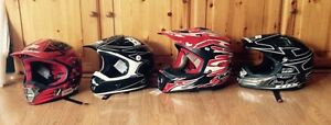 Moto cross/ ATV helmets