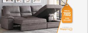Sofa Verra sectionel lit