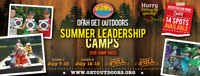 Get Outdoors Summer Camp for kids 8-16