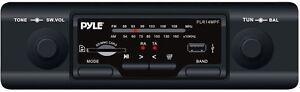 NEW-PYLE-PLR14MPF-SHAFT-STYLE-AM-FM-CAR-STEREO-W-USB-PORT-SD-MMC-CARD-READER