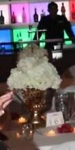 Wedding center piece gold vase/garden urn LOT. Huonville Huon Valley Preview