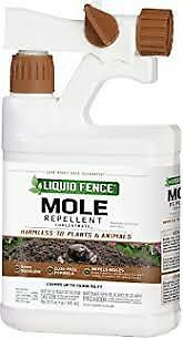 Liquid Fence Mole Repellent Ready-to-Spray, 32 Ounces