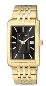 Citizen Mens BH1673-50E Analog Display Japanese Quartz Gold Wat