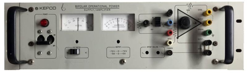 Kepco Bop 72-5M Bipolar Operational Power Supply/Amplifier