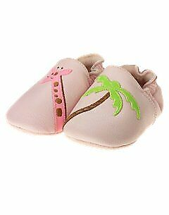 New in box Vintage Gymboree In the Jungle Baby Girl Crib shoes Size 02 - Giraffe Infant Crib