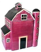 Barn Cookie Jar