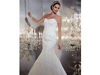 GABOR ITALIAN DESIGNER WEDDING DRESS 12/14