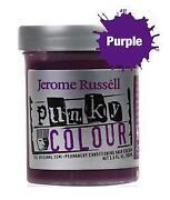 Permanent Purple Hair Color