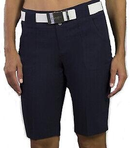 JoFit Ladies Belted Bermuda Shorts