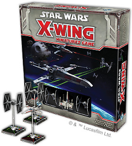 X-Wing Miniatures Board Game Collection