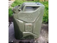 Military Jerry can 20 litre