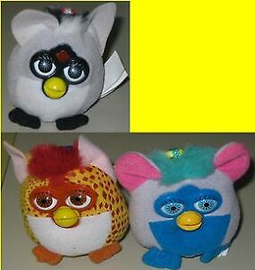 McDonald's 2000 Happy Meal Furby - Lot of 3