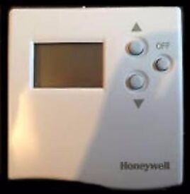 Honeywell T66020B Digital Room Thermostat Honeywell ST6300A 1007 24hr Electronic Programmer.