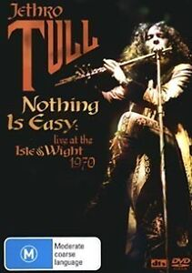 JETHRO TULL Nothing Is Easy: Live At The Isle Of Wight 1970 DVD NEW