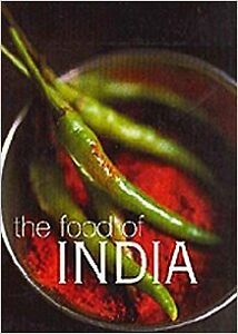 Food of india - hard cover 297 full size pages