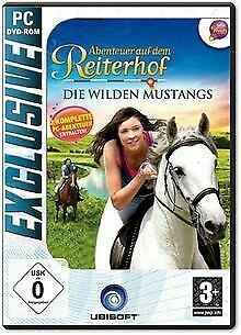 Abenteuer auf dem Reiterhof - Die wilden Mustangs von ro... | Game | Zustand gut