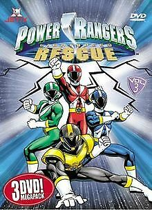 Power Rangers - Lightspeed Rescue Megapack Vol. 3 ... | DVD | Zustand akzeptabel - Dvd 3 Pack Light
