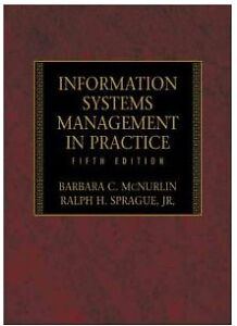 Information Systems Management in Practice (5th Edition)