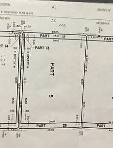 Vacant land for sale, ready to build!